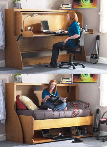 Convertible Furniture Ideas for Small Space. bed