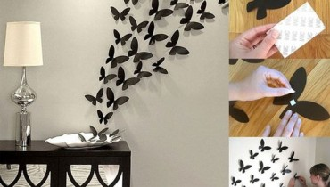 Stylish Wall Decorating Ideas. butterfly
