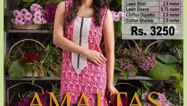 Yahsir Waheed Summer Dresses 2016 For Women0011