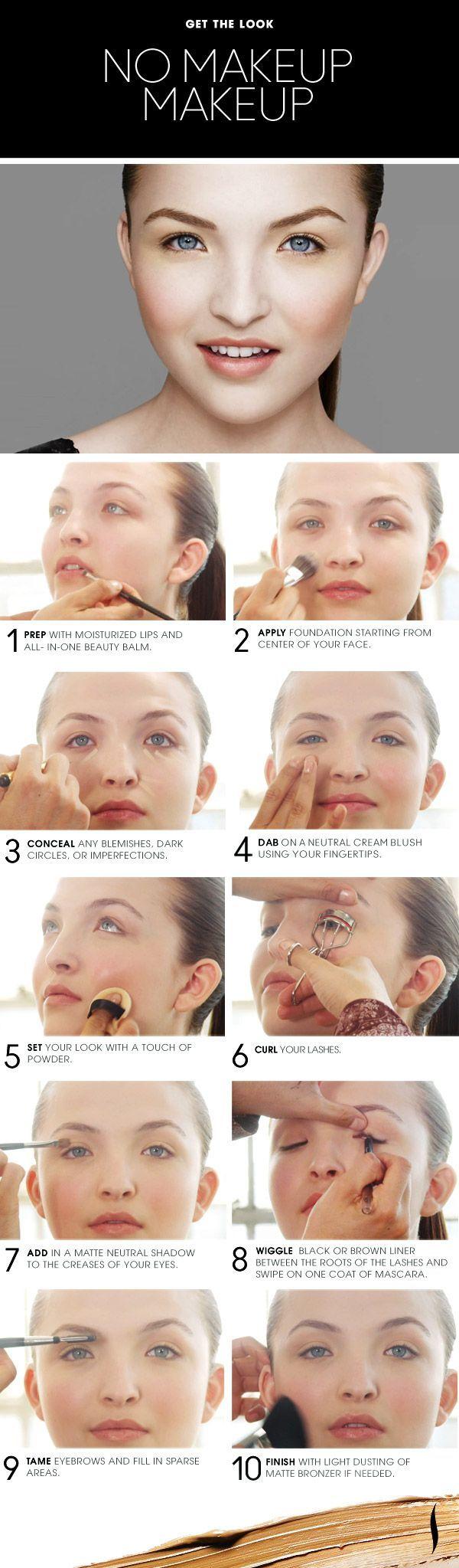 no makeup- natural makeup