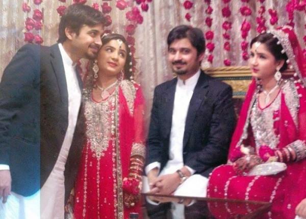 Babar Khan and Bismah Khan wedding