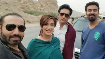 Finally Humayun Saeed is back to TV with Mehwish Hayat in Dil Lagi (1)