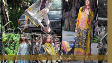 Lala Textiles Vintage Lawn Dresses 2016 For Women006