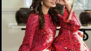Nomi Ansari Chiffon Dresses 2016 For Women001