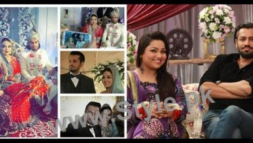 See Pictures of Uroosa Siddiqui with her husband