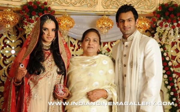 Shoaib Malik and Sania Mirza wedding
