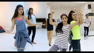 See Pakistani Celebrities during rehearsals of 4th HUM Awards 2016