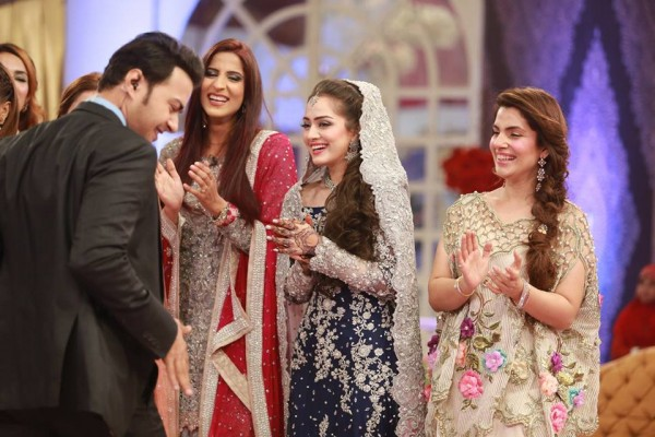Ahmed Hassan and Nousheen Ibrahim' Reception pictures (5)