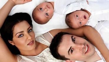 Celina Jaitley family