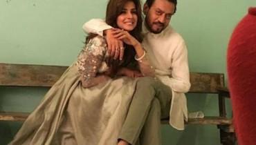 Irrfan Khan and Saba Qamar 1