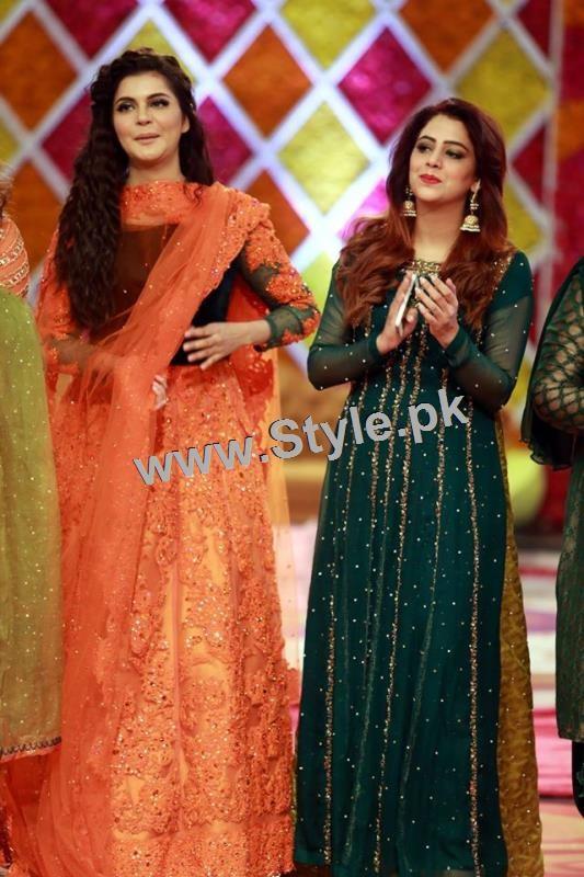 Mehndi Ceremony Sms : Mehndi trends showcased in good morning pakistan style pk