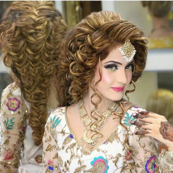 Pleasing Hairstyle Bridal 2016 Best Hairstyles 2017 Hairstyles For Women Draintrainus