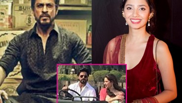 See Mahira Khan and SRK on Top in list of Best on screen couple