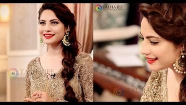 See Neelum Muneer on the set of upcoming Eid Show