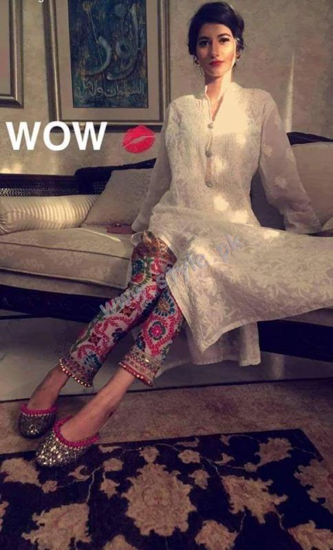 Phulkari Trousers Pakistani Wear For Girls