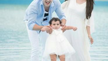 See Taimoor family's photoshoot for Hoorain's birthday