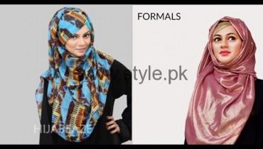 See Hijabeaze Latest Hijab Collection 2016