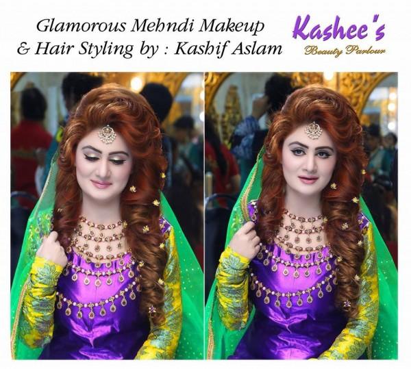 Bridal Mehndi Makeup by Kashee's