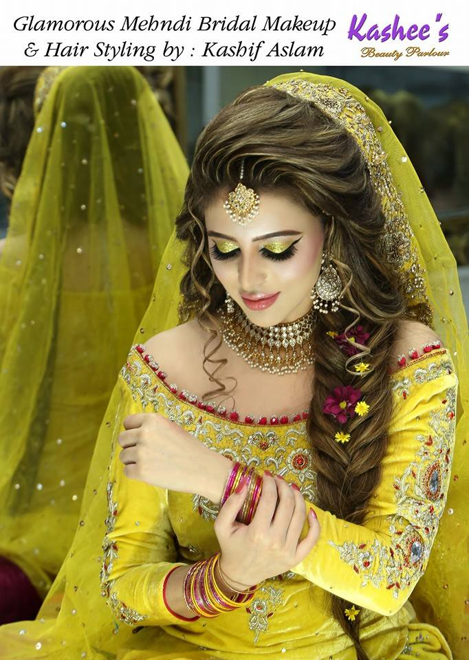 Makeup For Mehndi : Latest makeup ideas for mehndi event