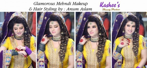 Latest Makeup Ideas 2016 for Mehndi event (7)