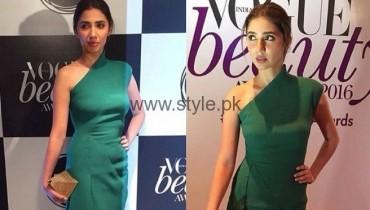 Mahira Khan at Vogue Beauty Awards in India