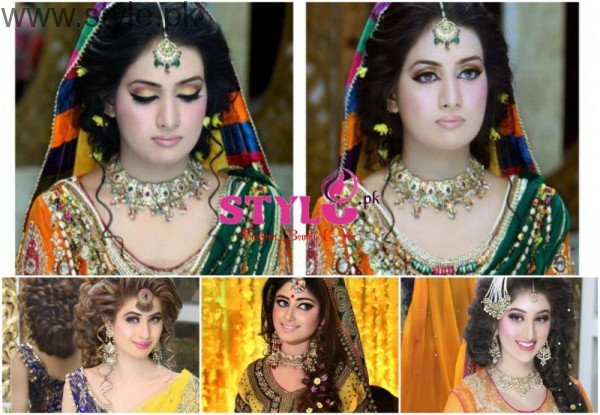 Makeup Ideas for Mehndi Picture