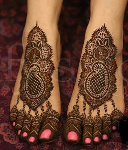 Mehndi designs 2016 for feet (7)