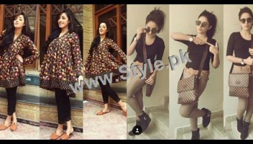 See Sanam Chauhdry's Style has no Match