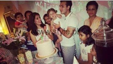 Syra Shehroze Daughter Nooreh Birthday
