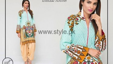 Zaheer Abbas Casual Dresses 2016 For Women006