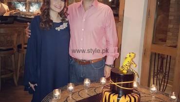 See Juggan Kazim celebrating her husband's birthday