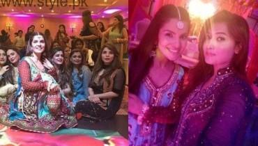 Amber Khan Daughter Wedding Pic