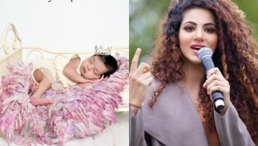 See Annie Khalid's baby girl
