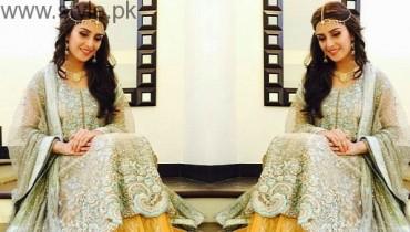 Ayeza Khan as bride