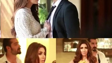 Hamza Abbasi and Mahira Khan photshoot