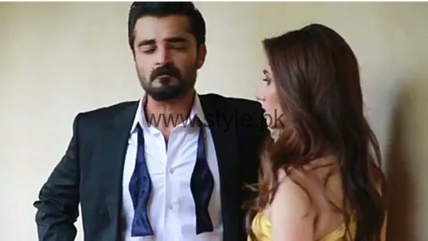 Hamza Ali Abbasi and Mahira Khan are busy in their latest Photo Shoot (4)