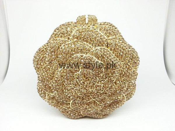 Latest Golden Bridal Clutches 2016 (13)