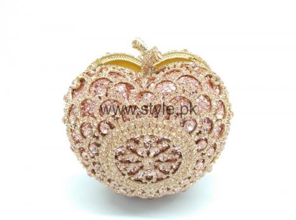 Latest Golden Bridal Clutches 2016 (3)