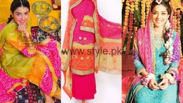 See Latest Mayon Chunri Dresses 2016 for Women