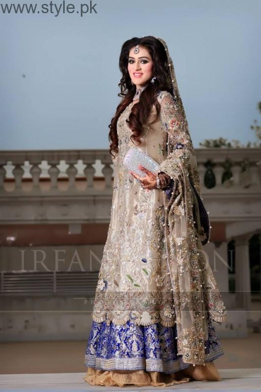 2017 fashion colour trends - Latest Pakistani Engagement Dresses 2017