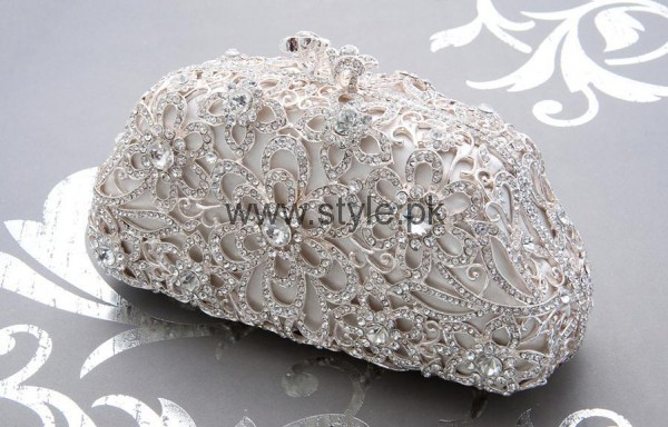 Latest Silver Bridal Clutches 2016 (9)