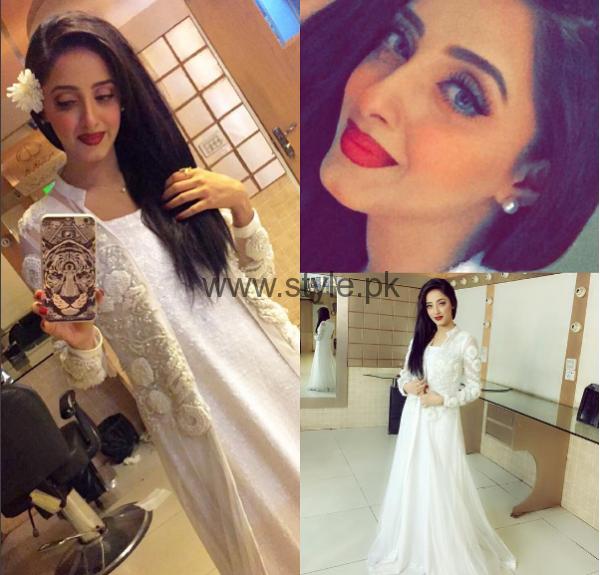 Makeup Ideas 2016 for White Dresses (1)