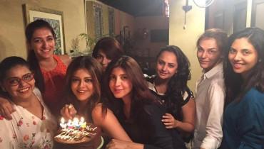 Maria Wasti's birthday Celebrations (2)