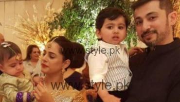 Mehreen Raheel Family Photo