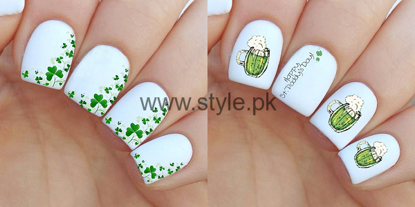 Nail Art Ideas 2016 for Pakistan's Independence Day (1)