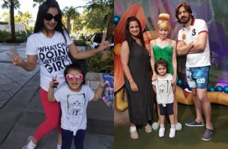 See Noor Bukhari Enjoying in USA with her family