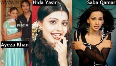 Pakistani Actresses Old Pics