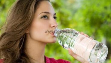 Re-Filled Water Bottles