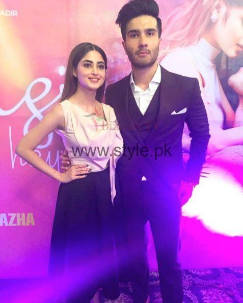 Sajal Ali and Feroz Khan Zindagi Kitni Haseen Hai Music Launch