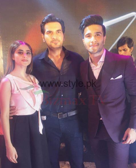 Sajal Ali and Feroz Khan at Zindagi Kitni Haseen Hai Music Launch